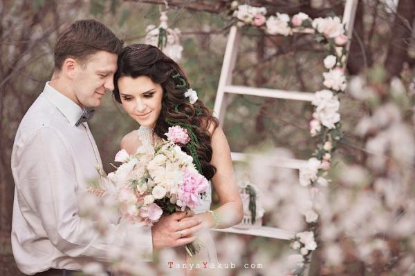 свадьба в стиле шебби-шик #wedding #shabby-chic #spring