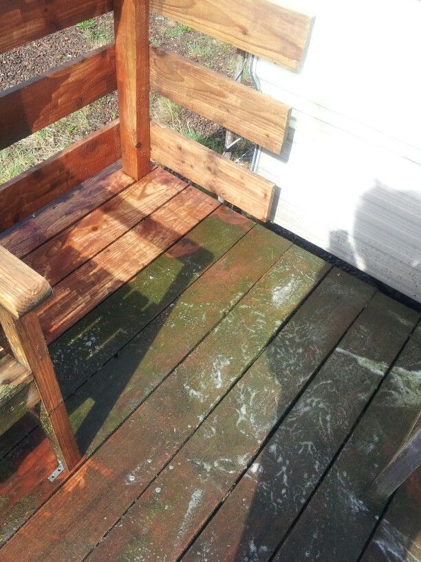 Deck clean