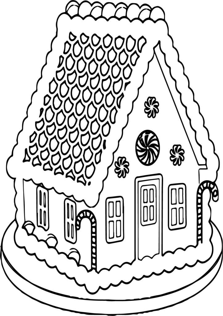 Coloring Rocks Gingerbread Man Coloring Page House Colouring Pages Coloring Pages