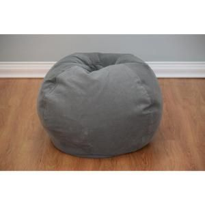 Ace Casual Furniture Vintage Slate Corduroy Bean Bag 9603401