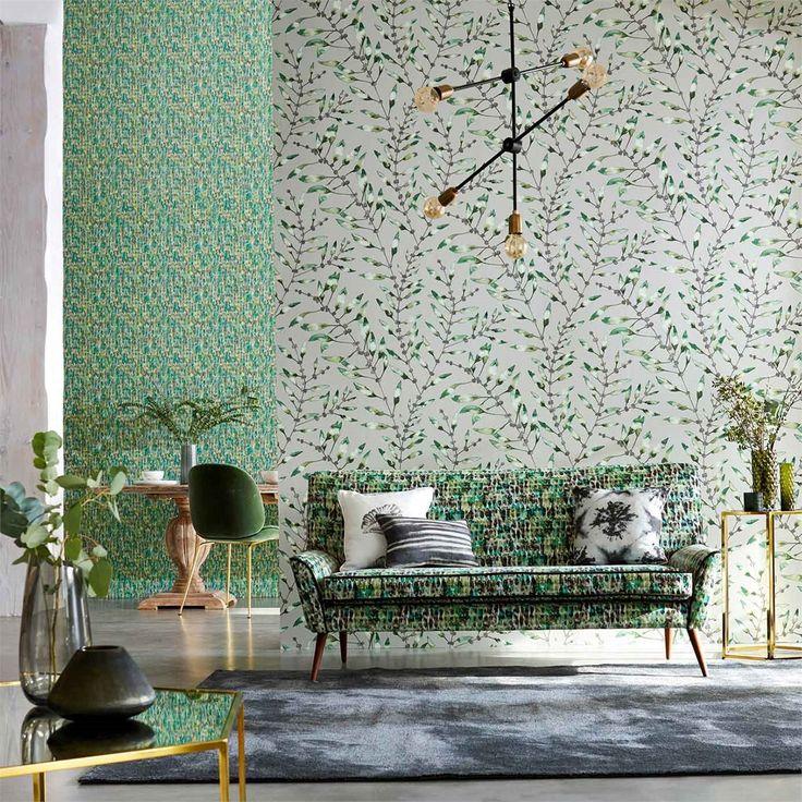 Anthozoa Wallpapers & Fabrics.