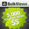 Get 5000 Youtube views in $5 https://www.youtubebulkviews.com/youtube/buy-youtube-views/
