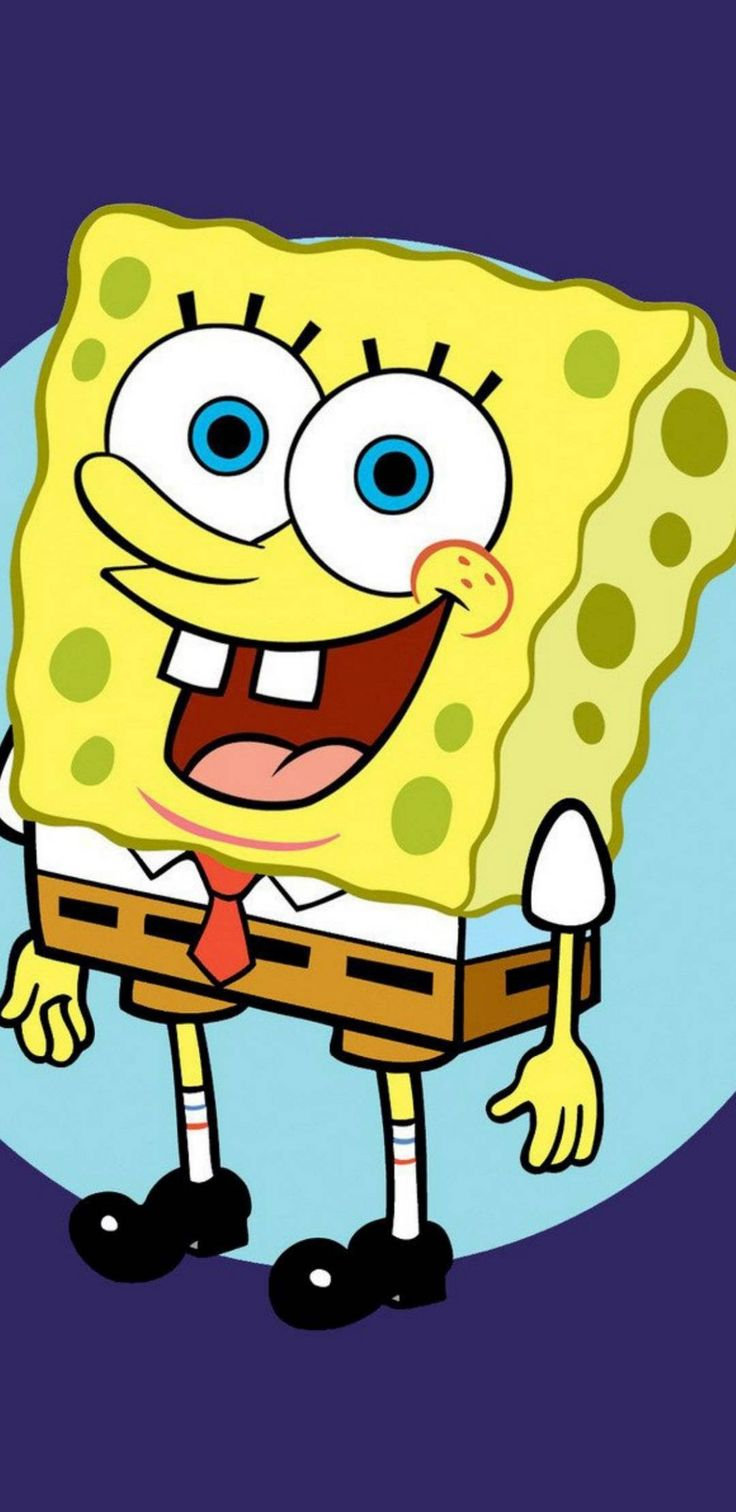 Spongbob yellow phone wallpaper background for iPhone