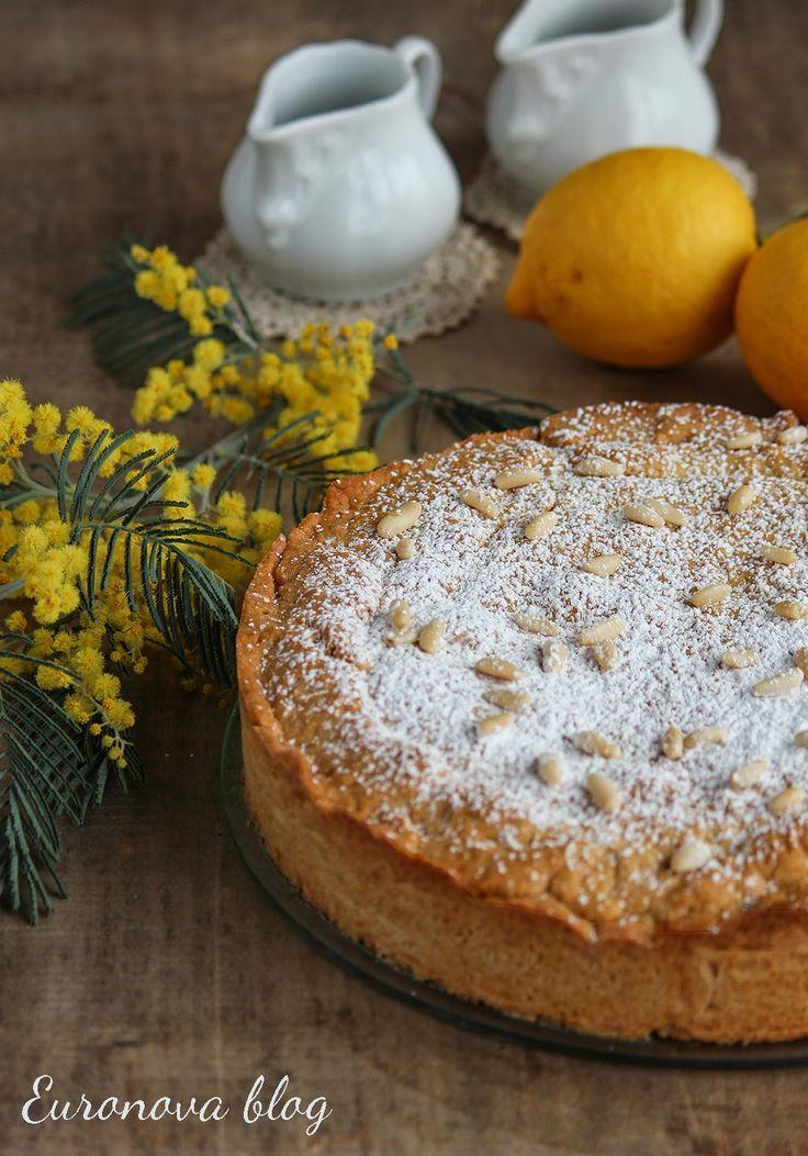 A Casa di Euronova: Crostata al limone