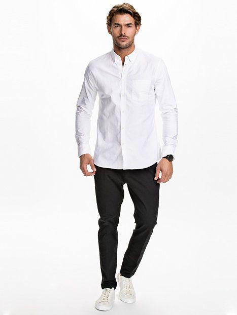 M. Paul Oxford Shirt - Filippa K - White - Skjortor - Kläder - Man - NlyMan.com
