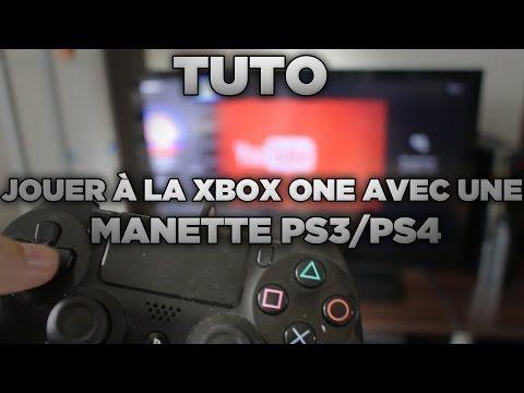 TUTO : JOUER À LA XBOX ONE AVEC UNE MANETTE PS3/PS4 !  #manette