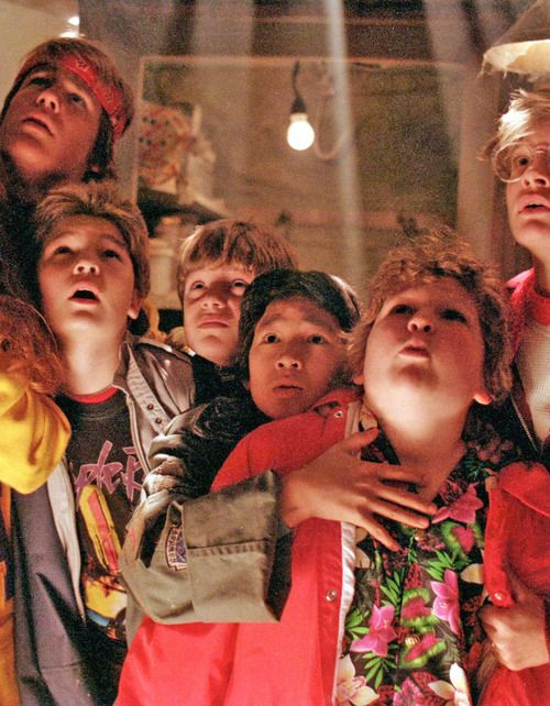 The Goonies. On my husnad and I's honeymoon, it was actually the Goonies 25th anniversary in Astoria. We just so happen to be honeymooning there at the same time. The Goonies will ALWAYS have a special place in my heart.