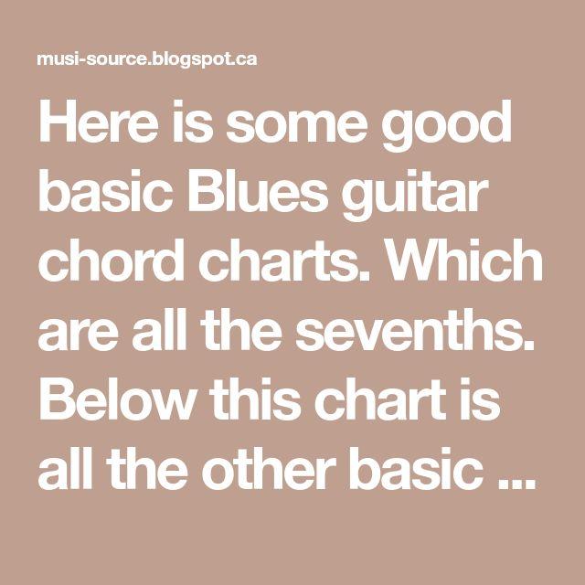 228 Best Guitar Chords Images On Pinterest Guitar Chord Guitar