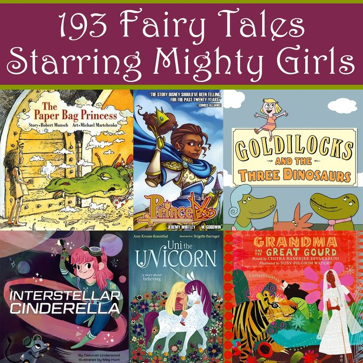 193 Girl-Empowering Fairy Tales and Folktales