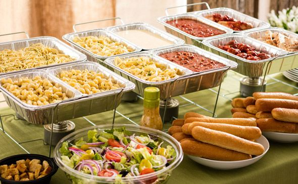 Create Your Own Pasta Station - 10 Guests  Friday night!