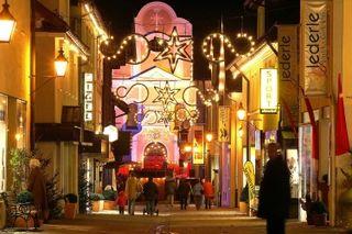 Immenstadt weihnachtlich geschmückt