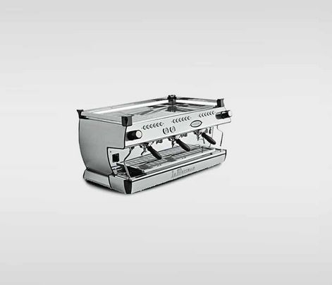 La Marzocco GB/5 - $13,145.00   Saturated Group Heads: ensure unsurpassed thermal stability, shot after shot  Digital Displays: intiative programming make it easy to adjust macine parameters  Hot Water Economiser: enables you to fine tune the tap water temperature for tea