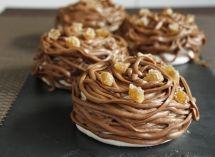 Retrouvez nos idées de recettes sucrées combinant chocolat et marrons chauds - retrouvez également toutes nos recettes festives !