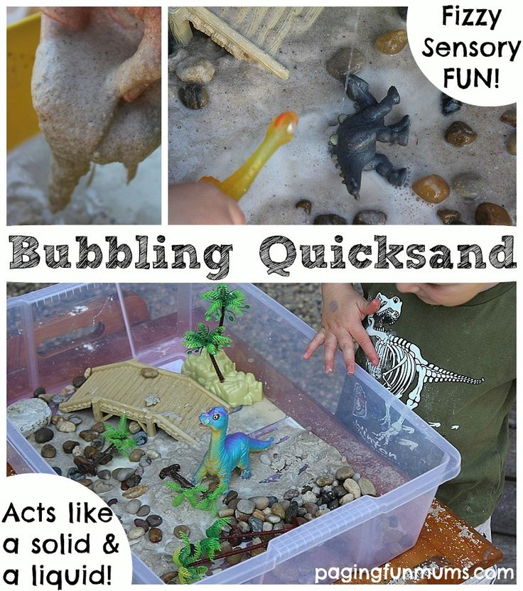 Bubbling Quicksand Play Recipe