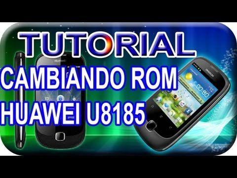 """Tutorial (Como Cambiar de Rom Huawei U8185, Ascend y100) """"fondos Live"""" - YouTube"""