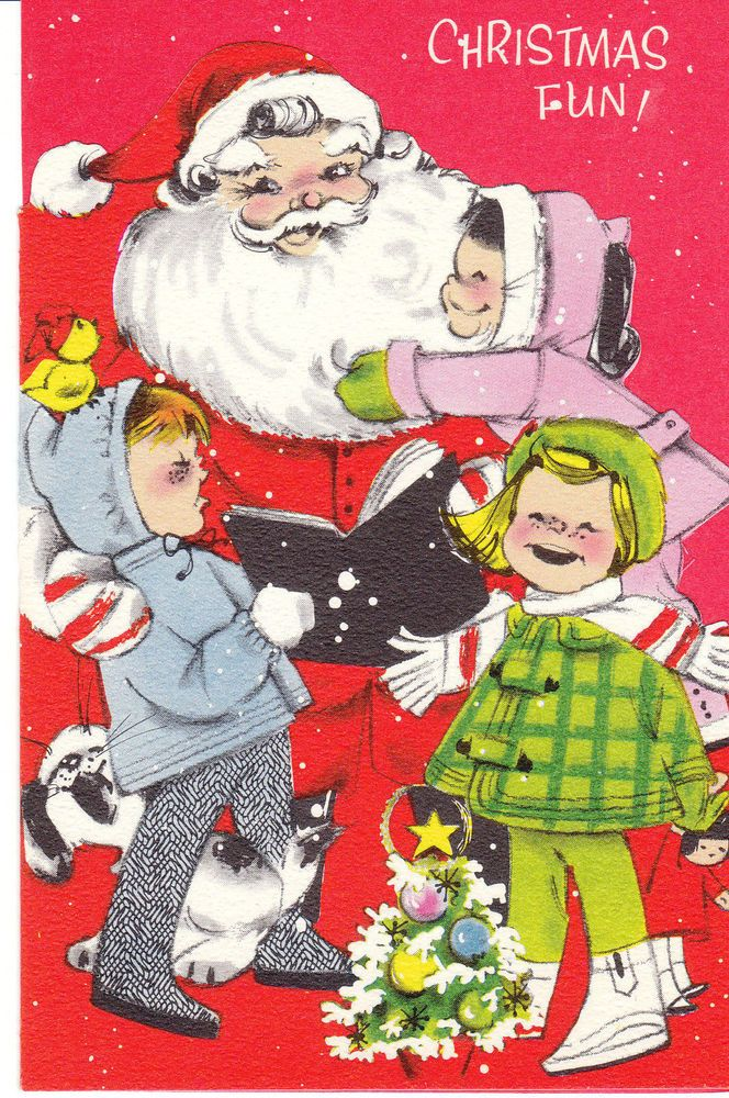 Christmas Toys Cards : Best vintage christmas greeting cards one images on