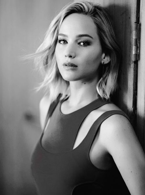 Jennifer Lawrence photographed by Mikael Jansson for US Vogue, Dec 2015
