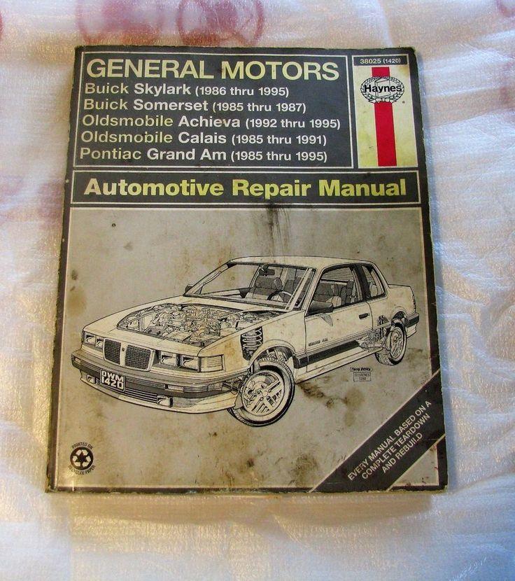 1986-1995 Haynes GM Automotive Repair Manual