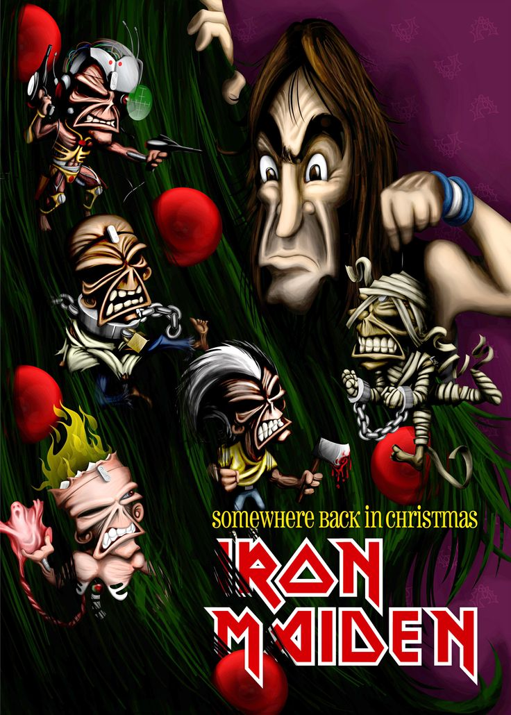 Iron Maiden Xmas Card Competition 2007  Finalist