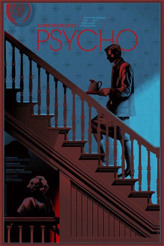 Laurent Durieux Hitchcock Mondo Poster Release