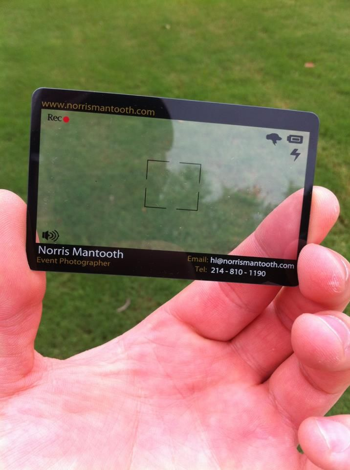 Cool #photography #business #card