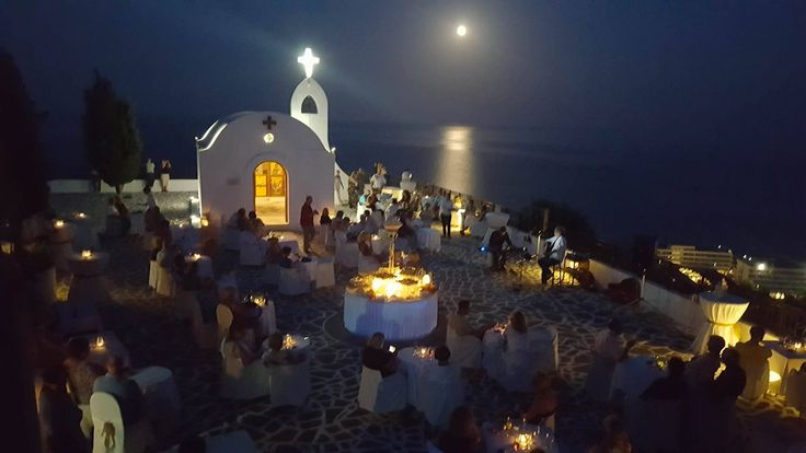 Moonlight Moods Party at the spectacular hill top Chapel of St Sophia! Unique view, live music, magic full moon atmosphere, drinks and canapés
