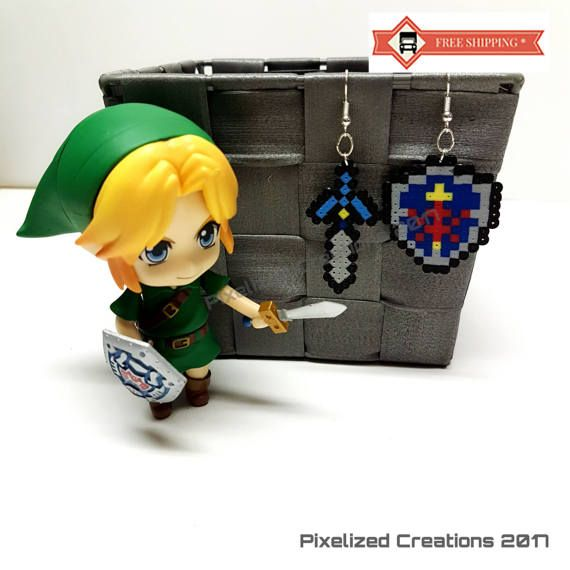 Legend of Zelda: Link to the Past Videogame Inspired Mini