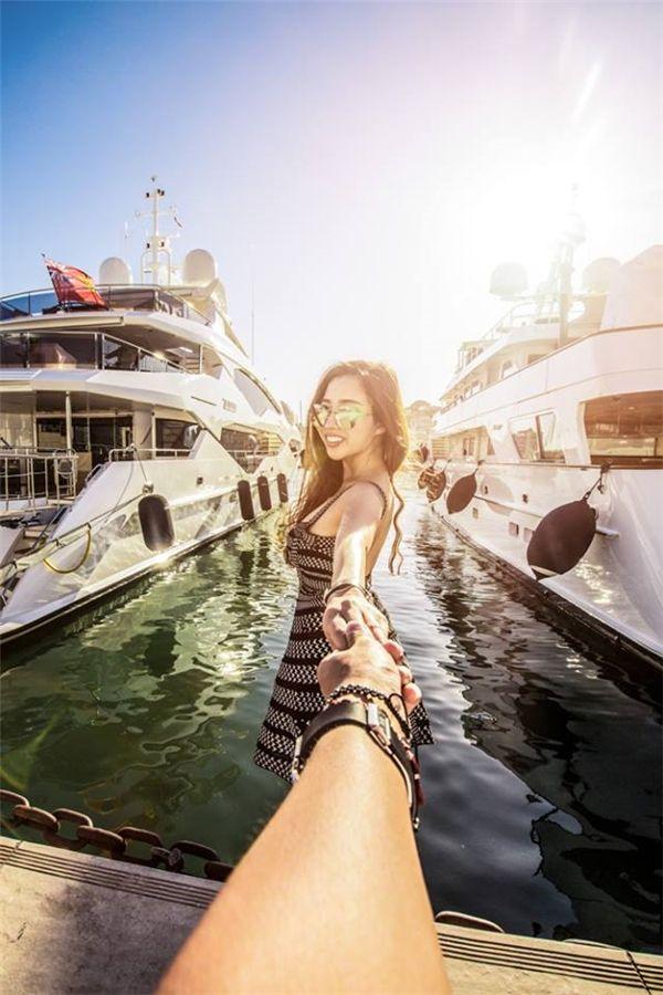 Bến siêu du thuyền của thành phố NICE xinh đẹp.(Ảnh: MrLee)