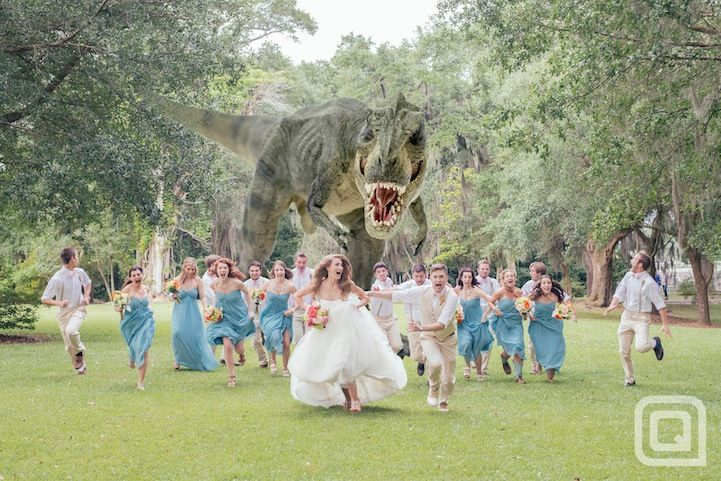 awesome wedding crasher photo by quinn miller.