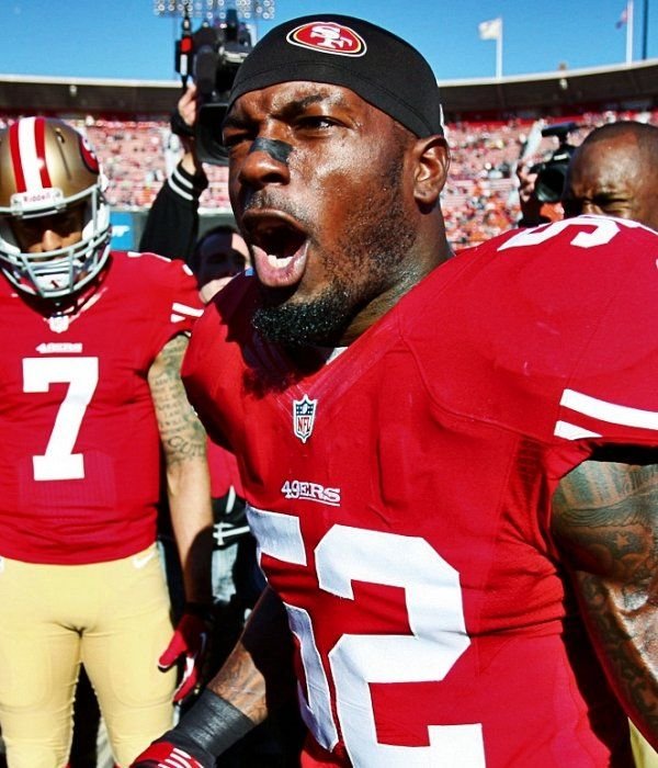 Patrick Willis says he will never use stats to define greatness
