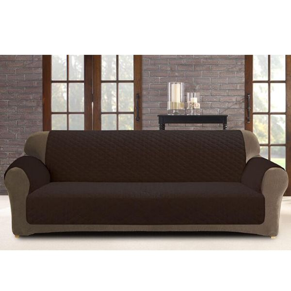 Sofa Cover Protector Secure Shield These Custom Fit Sofa Cover Protectors Antimacassars Will Guard Your Furniture Against Food And Drink Spills Sofa Covers