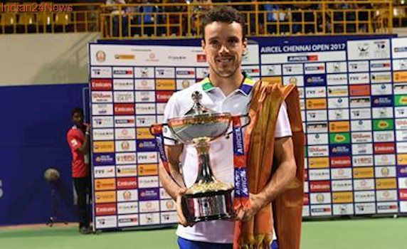 Chennai Open: Roberto Bautista Agut downs young Daniil Medevedev to lift title