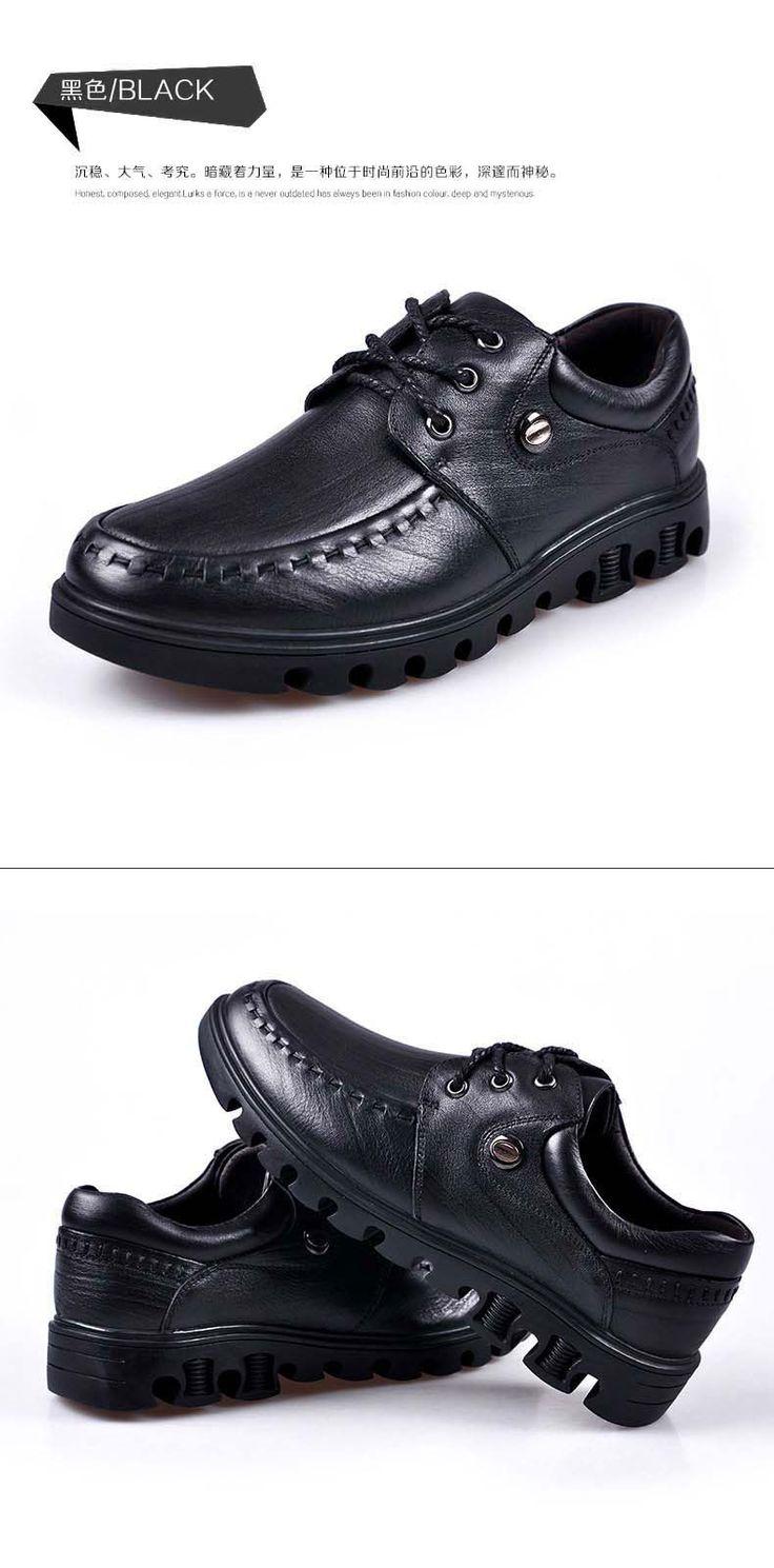 Нянь JEEP мужские бизнес случайный кожаные ботинки детская одежда полуботинки Британские мужчины черные туфли проскальзывают Lynx -tmall.com