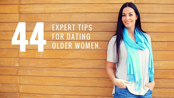 Want to Date Older Women? Here are top advice when meeting and dating older women!