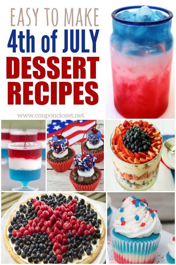 quick easy fourth of july desserts