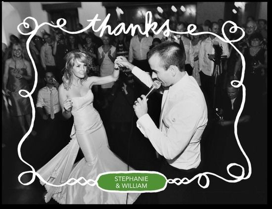 17 Best images about Thank you cards – Wedding Paper Divas Thank You Cards