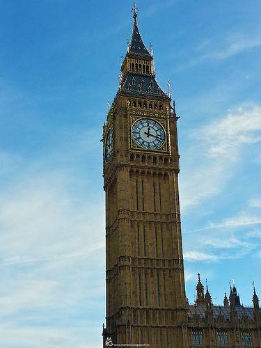 Знаменитый Биг-Бен. Лондон.