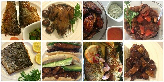 """Dit recept is geïnspireerd op de Caribische keuken. De volgende ingrediënten heb ik o.a. gebruikt om de kip een 'Caribische smaak' te geven: limoensap, rietsuiker, cayennepeper, kruidnagels, gember, gedroogde tijmblaadjes. <a class=""""more-link"""" href=""""http://goodfoodmix.nl/caribische-kip-tropische-cocktail/"""">Continue Reading →</a>"""