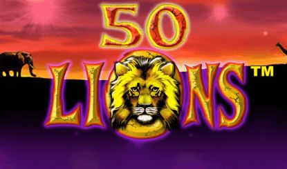 You can play slot 50 Lions here