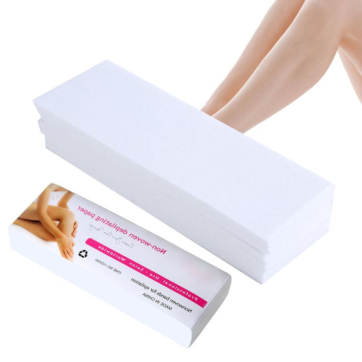 100pcs/lot Wax Strips For Hair Removal Depilatory Nonwoven Epilator Wax Strip Paper Roll Waxing Health Beauty Smooth Legs #Affiliate