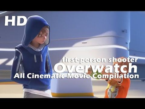 Overwatch All Cinematic Movie Compilation