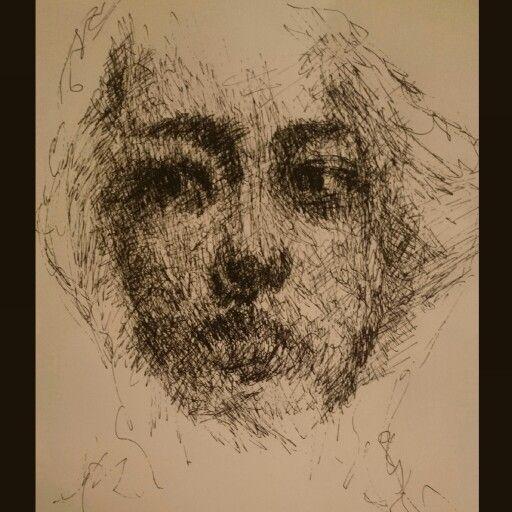 by tanerya lmaz ink drawing