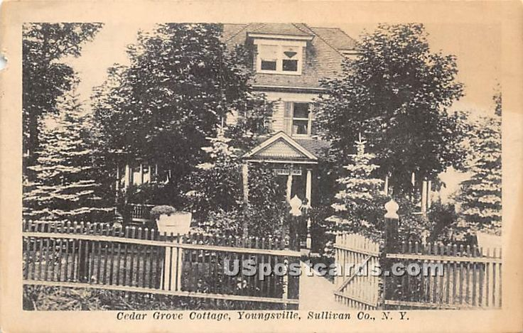 Cedar grove cottage in youngsville new york vintage