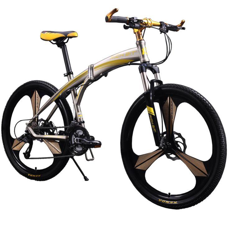 New 601 Richbit Bicycle 26inch Mens Aluminum Folding Mountain Bike 27 speeds 3…