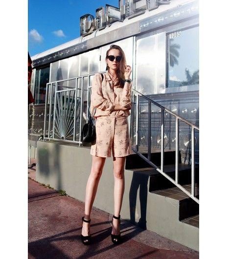 @Alexandra M What Wear - Andy Torres of Style Scrapbook On Torres: Bimba y Lola blouse; Zara sandals; Neri Karra bag