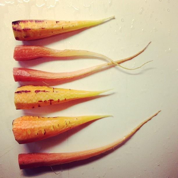 Heirloom Carrots | foodstuffs | Pinterest | Carrots