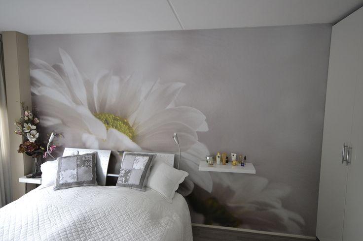 Meer dan 1000 idee n over slaapkamer behang op pinterest paren slaapkamer blauw kantoor en - Schilderij slaapkamer meisje ...