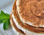 Tiramisu Pancakes With Banana-Cream Frosting  Recipe. Get free and healthy recipes for Tiramisu Pancakes With Banana-Cream Frosting  including all the ingredients used and the nutritional data. Track your recipes, count your calories, and monitor your fat, protein, carbs and more! Customize your tracking with your own recipes!