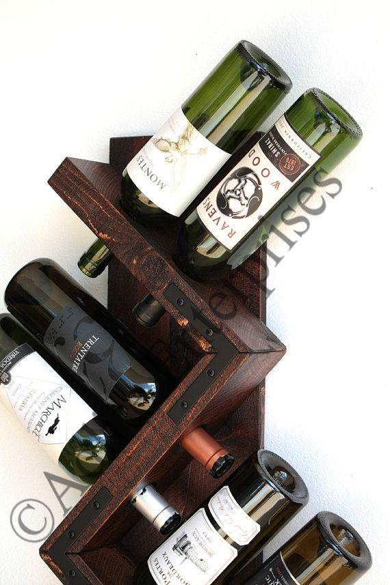 1000 ideas about wine rack wall on pinterest wine racks - Botellero de madera para vino ...