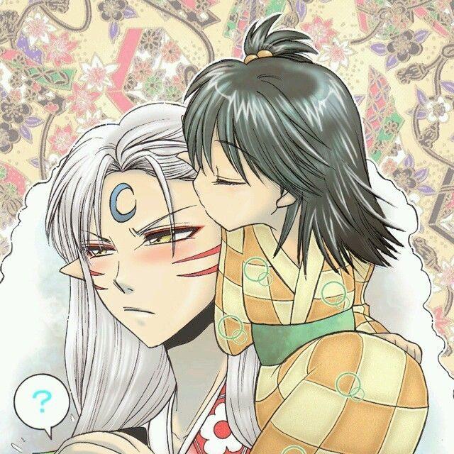 Best 1255 Inuyasha Images On Pinterest: 37 Best Sesshomaru And Rin Images On Pinterest
